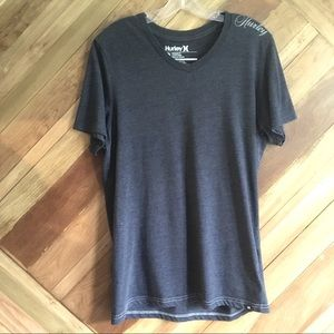 Hurley Intl Mens Large V-neck T-shirt